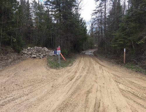 Sandpit / Trail 40 Re-route